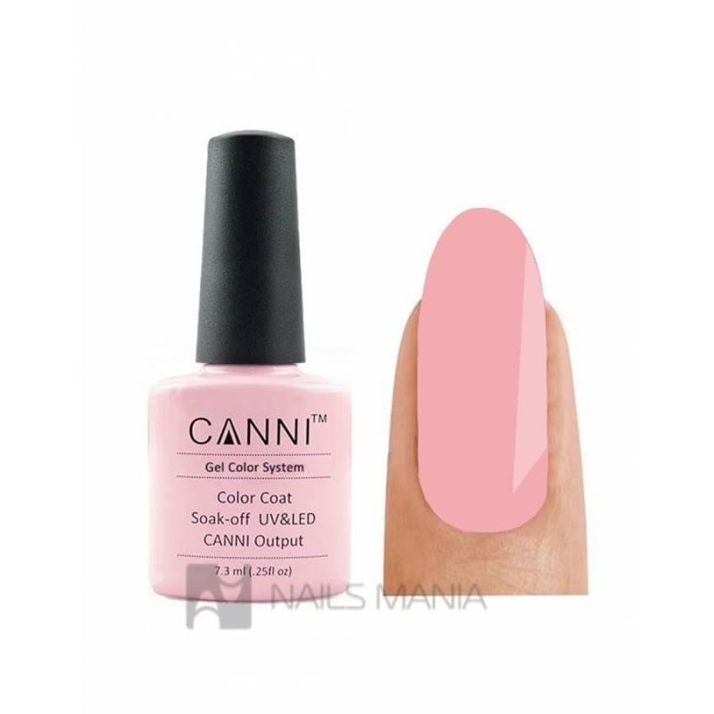 Купить Гель-лак CANNI №013 (бледно-розовый, эмаль), 7.3 мл