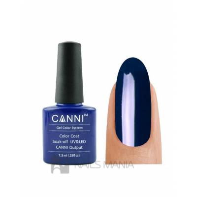 Гель-лак CANNI №021 (темно-синий, эмаль), 7.3 мл