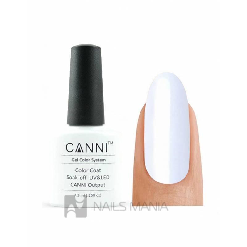 Купить Гель-лак CANNI №023 (белый, эмаль), 7.3 мл