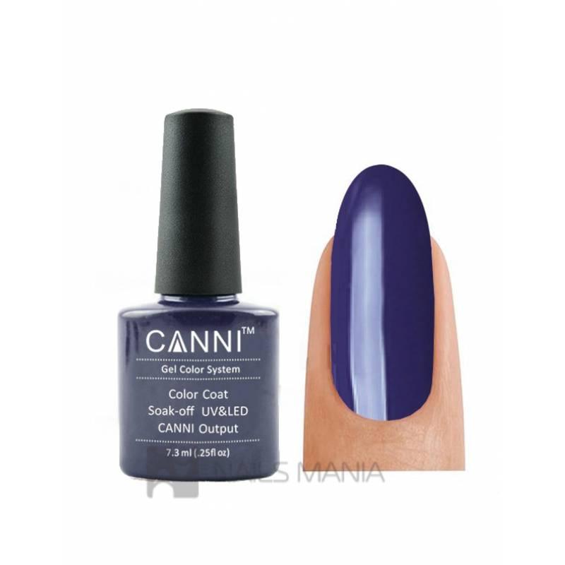 Купить Гель-лак CANNI №030 (темно-фиолетовый, эмаль), 7.3 мл