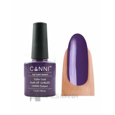 Гель-лак CANNI №032 (дымчато-фиолетовый, эмаль), 7.3 мл