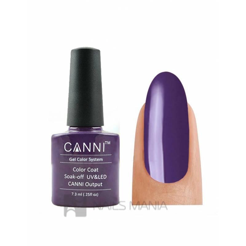 Купить Гель-лак CANNI №032 (дымчато-фиолетовый, эмаль), 7.3 мл