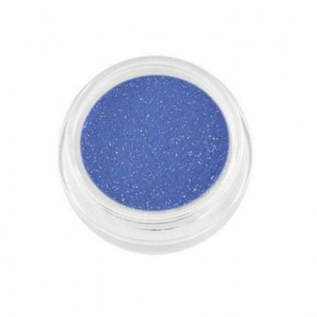Акриловая пудра My Nail №1, синий с блестками 2 г