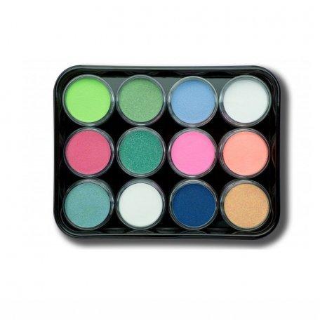 Наборы акрилов - Набор цветных акрилов G3 (12 шт)