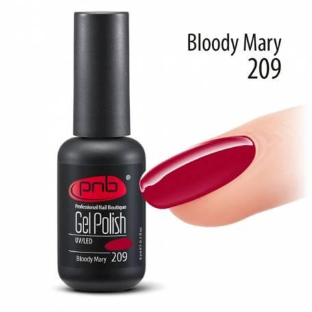 Купити Гель-лак PNB 8 мл Bloody Mary 209