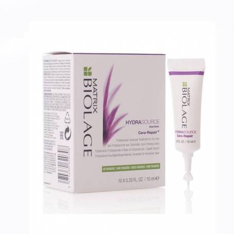 Купить Увлажняющий концентрат для сухих волос Matrix Biolage Hydra Source Cera Repair 10х10 мл