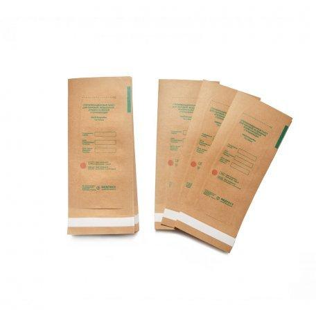 Пакеты для воздушной стерилизации 75х150мм (крафт) из крафт бумаги 100шт