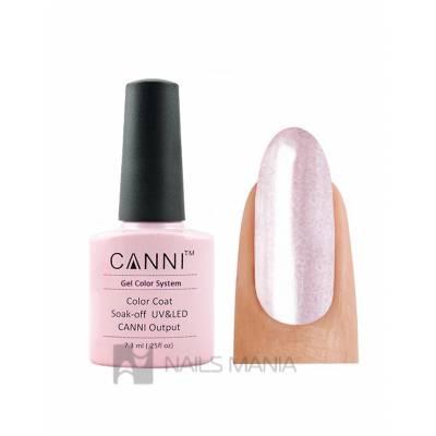 Гель-лак CANNI №012 (розовый с перламутром), 7.3 мл