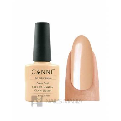 Гель-лак CANNI №024 (персиковый, эмаль), 7.3 мл