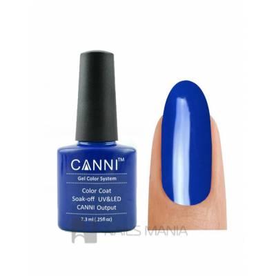 Гель-лак CANNI №035 (синий, эмаль), 7.3 мл
