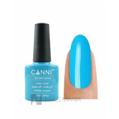 Гель-лак CANNI №036 (голубая бирюза, эмаль), 7.3 мл