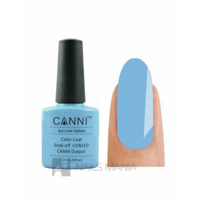 Гель-лак CANNI №037 (голубо-серый, эмаль), 7.3 мл