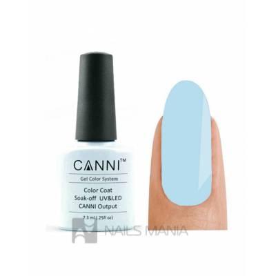 Гель-лак CANNI №038 (голубой, эмаль), 7.3 мл