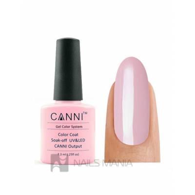 Гель-лак CANNI №040 (пастельно-розовый, эмаль), 7.3 мл