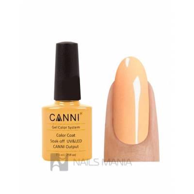 Гель-лак CANNI №046 (оранжево-бежевый, эмаль), 7.3 мл