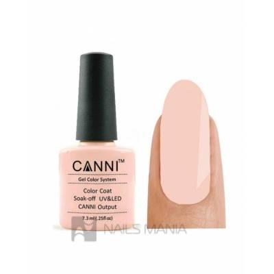 Гель-лак CANNI №047 (персиково-розовый, эмаль), 7.3 мл