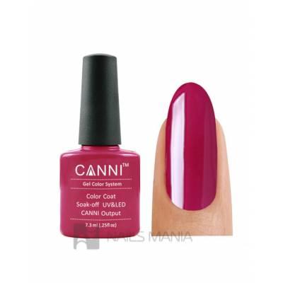 Гель-лак CANNI №070 (светло-бордовый, эмаль), 7.3 мл