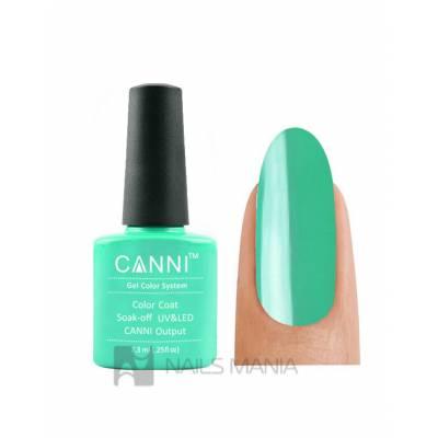 Гель-лак CANNI №078 (пастельно-зеленый, эмаль), 7.3 мл