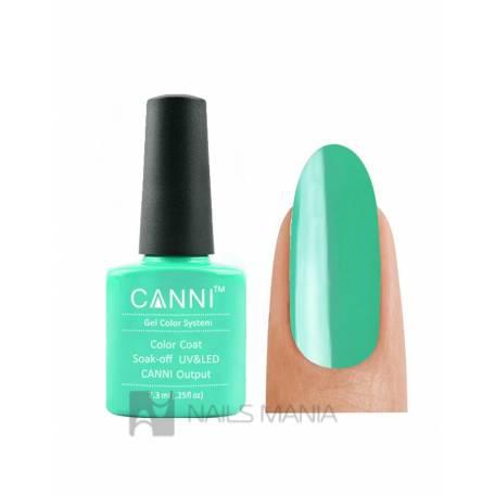 Купить Гель-лак CANNI №078 (пастельно-зеленый, эмаль), 7.3 мл