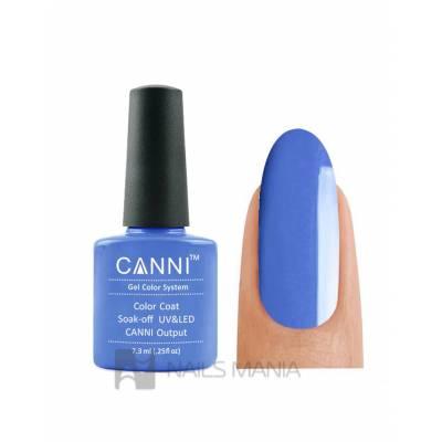 Гель-лак CANNI №079 (фиолетово-синий, эмаль), 7.3 мл