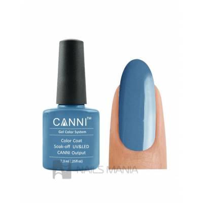 Гель-лак CANNI №080 (дымчатый серо-голубой, эмаль), 7.3 мл
