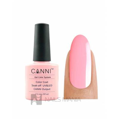 Гель-лак CANNI №092 (светло-розовый, эмаль), 7.3 мл