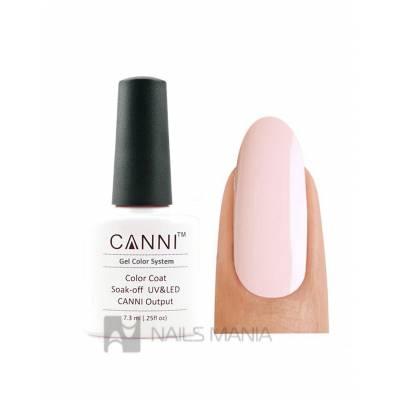 Гель-лак CANNI №096 (нежно розовый, эмаль), 7.3 мл