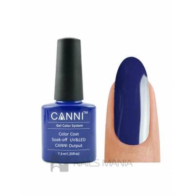 Гель-лак CANNI №097 (темный синий, эмаль), 7.3 мл