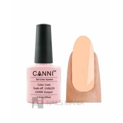Гель-лак CANNI №101 (нежный бежево-розовый, эмаль) 7,3 мл