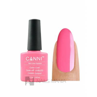 Гель-лак CANNI №109 (ярко-розовый, эмаль), 7.3 мл