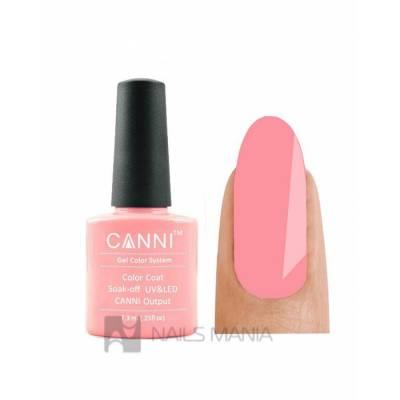 Гель-лак CANNI №115 (светлый розово-коралловый, эмаль), 7.3 мл