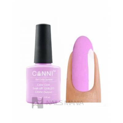 Гель-лак CANNI №117 (розовый, эмаль), 7.3 мл