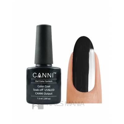 Гель-лак CANNI №132 (темно-серый, эмаль), 7.3 мл