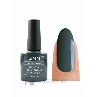 Гель-лак CANNI №133 (темно-серый, эмаль), 7.3 мл