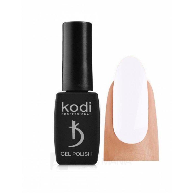 BLACK&WHITE (BW), 8мл - Гель-лак Kodi №001 BW, 8 ml