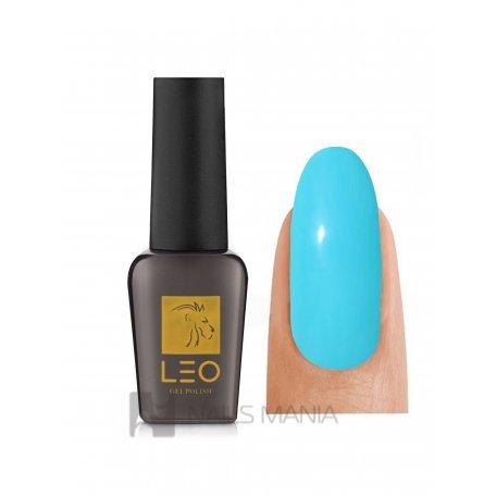 Гель-лаки LEO - Гель-лак Leo №067 (бирюзово-голубой, эмаль), 9 мл