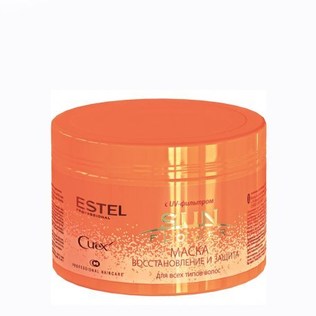 Маски для волос - Estel Curex SunFlower Маска - восстановление и защита с UV-фильтром, для всех типов волос, 500 мл