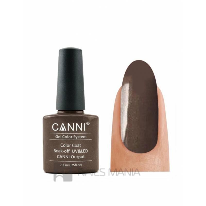Купить Гель-лак CANNI №211 (серо-коричневый с микробеском)  7.3 мл.