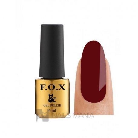 Гель-лак F.O.X Feel The Spring Collection 509 шоколадно-бордовый, 6 мл