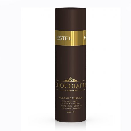 """Estel Otium Chocolatier - кондиционер """"нежность кашемира"""" с ароматом шоколада, 200 мл"""