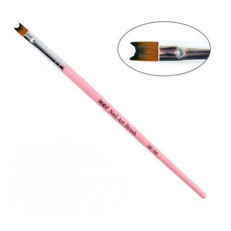 Кисти для росписи (рисования) - Кисть для градиента, омбре YRE Nail Art Bruch KR 04, искусственный ворс