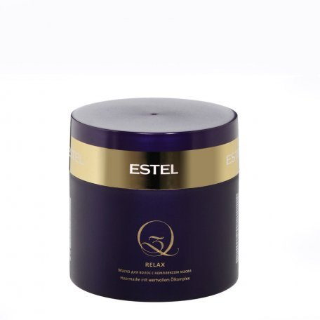 Маски для волос - Estel маска для волос с комплексом масел Q3 RELAX, 300 мл