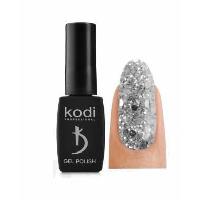 Гель-лак Kodi №150 SH (Прозрачный с серебристыми блестками), 8 ml