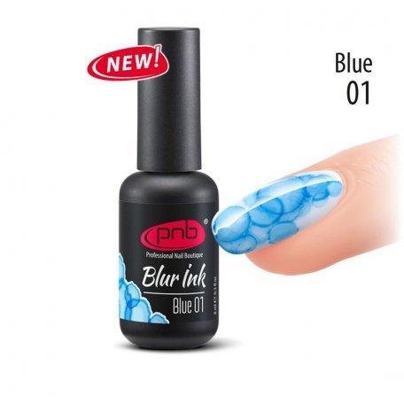 Купити Акварельні краплі-чорнило Blur Ink PNB 01 Blue (блакитні), 8 мл