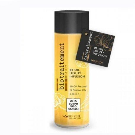 Масло для волос - БиБи-масло Brelil Professional многофункциональное для волос, кожи лица и тела 100 мл
