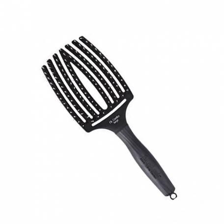 Купить Olivia Garden щетка массажная с натуральной щетиной Finger Brush Combo Large