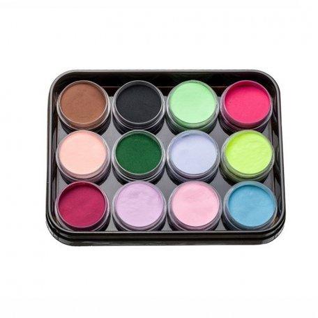Наборы акрилов - Набор цветных акрилов L2 (12 шт)