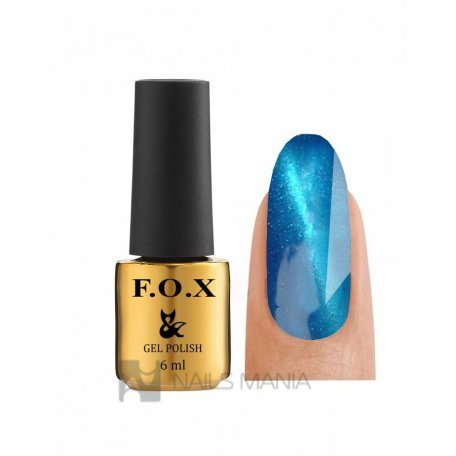 Гель-лак F.O.X Gold Cat Eye №076, 6 мл