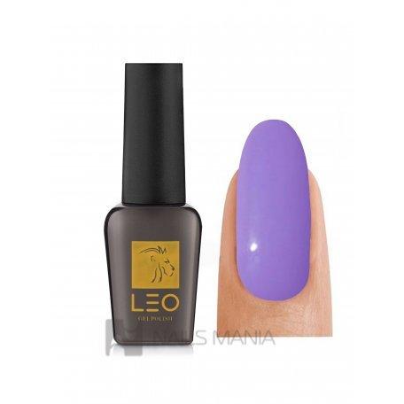 Гель-лаки LEO - Гель-лак Leo №050 (насыщенный яркий лиловый, эмаль), 9 мл