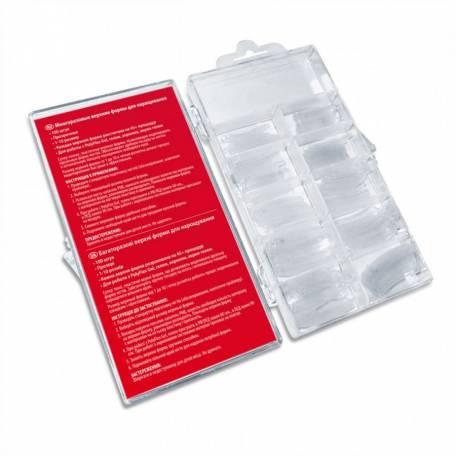 Купить Многоразовые верхние формы (типсы) PNB 100 шт, прозрачные